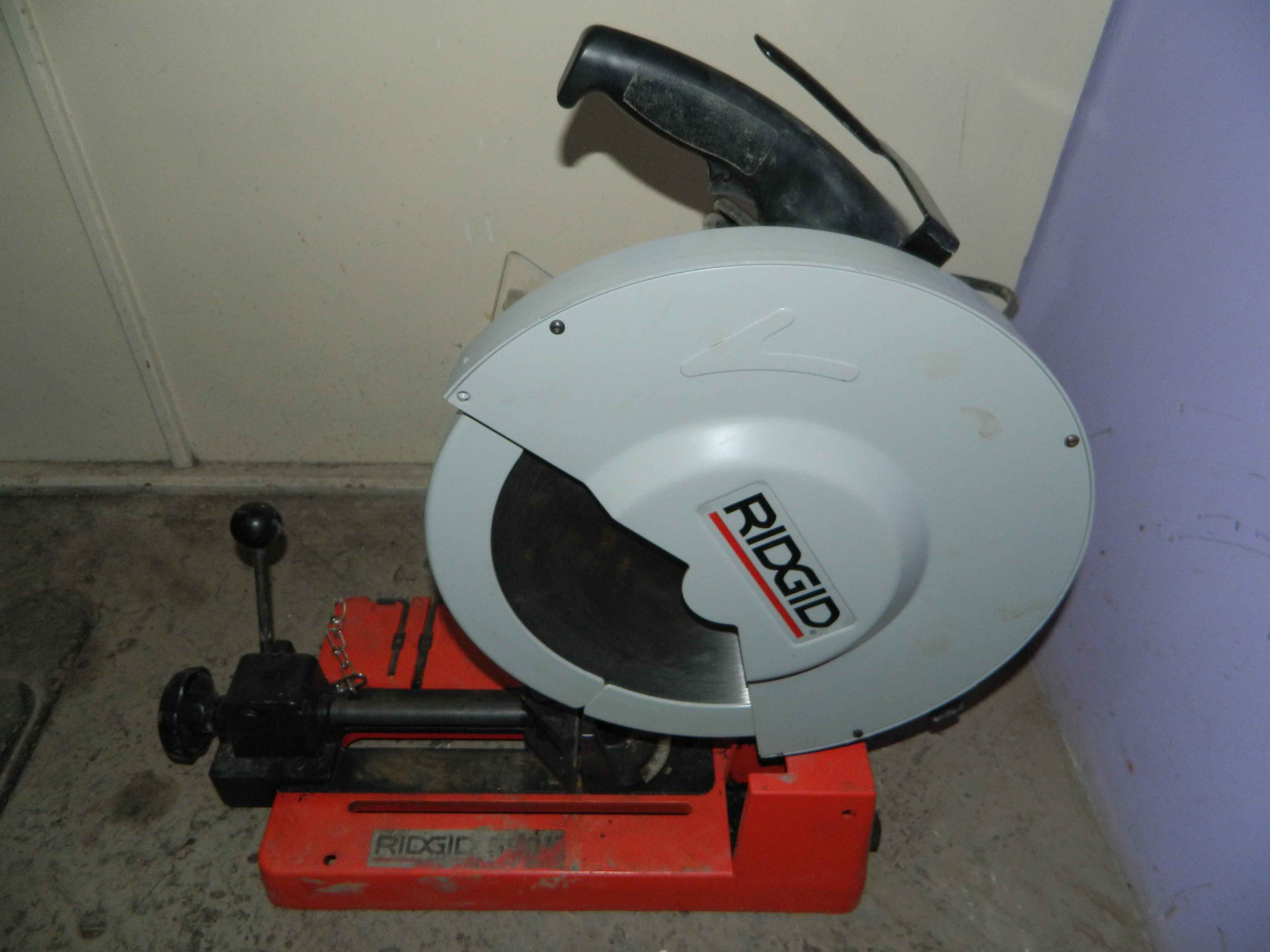 Masina de debitat cu disc Ridhid 590L